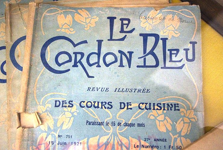cordon bleur lettering magazine art deco